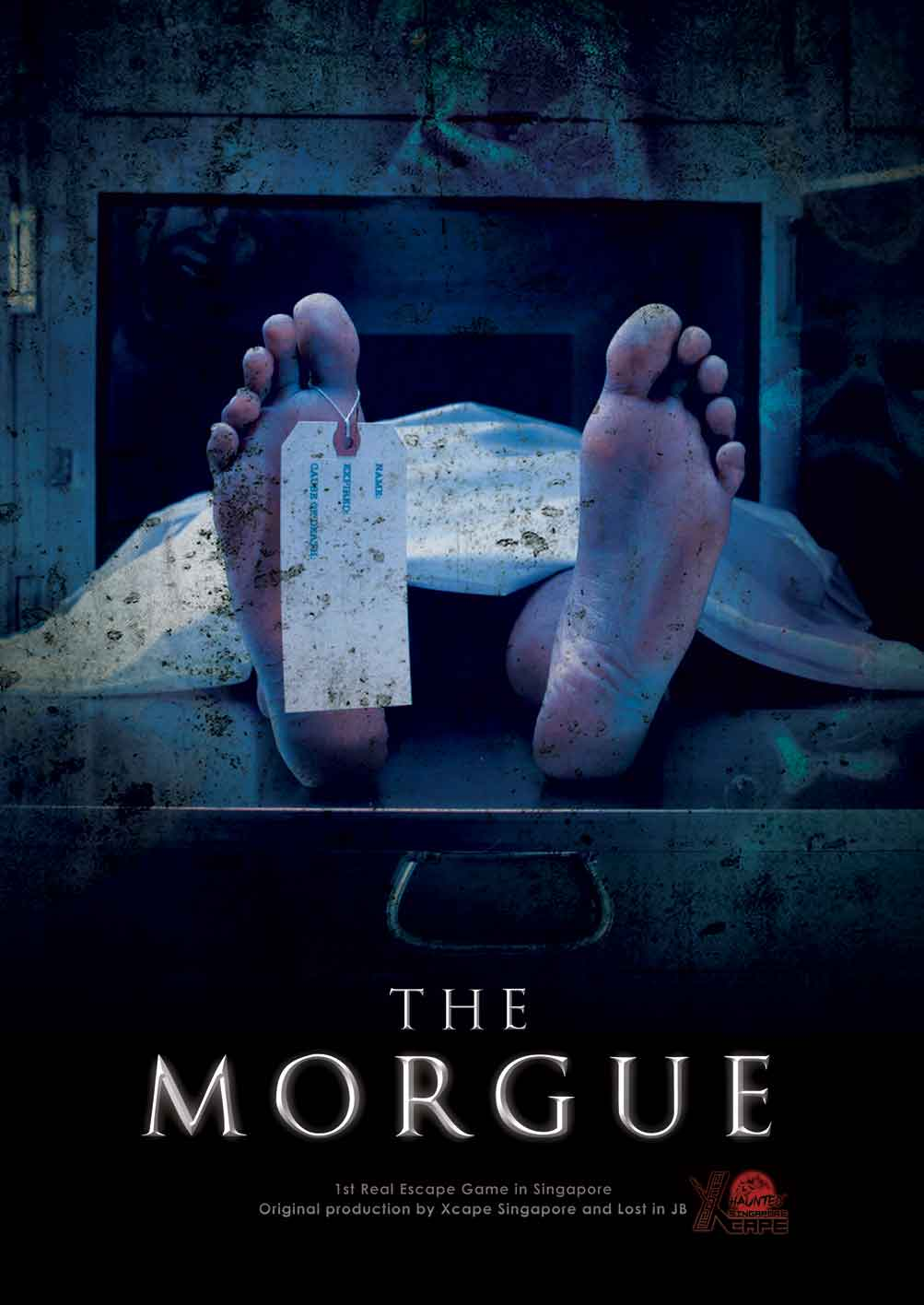 The Morgue ( Haunted ) -  Xcape Singapore Real Room Escape Games  Bugis Village Xcape Funtasy