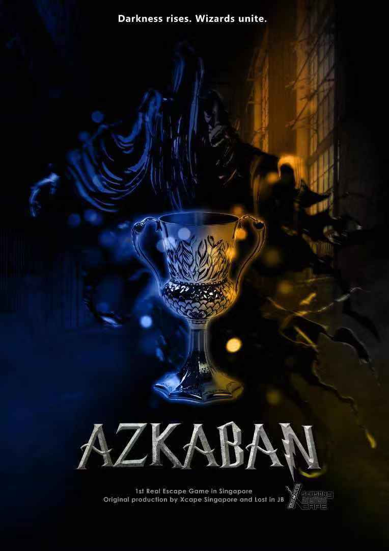 Azkaban -  Xcape Singapore Real Room Escape Games  Bugis Village Xcape
