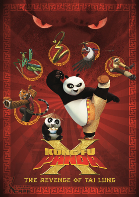 Kungfu Panda X - The Revenge of Tai Lung -  Xcape Singapore Real Room Escape Games  Bugis Village Xcape Funtasy